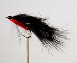 Red Black Fur Streamer