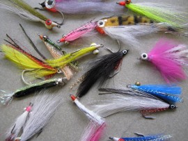 20 SALTWATER FLY FISHING FLIES INTRODUCTION SAMPLE PACK