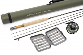 "Twig Discovery Nano Helix 7'6"" #2/3wt fly rod, Fully loaded Discovery Romeo 2020 Reel,"