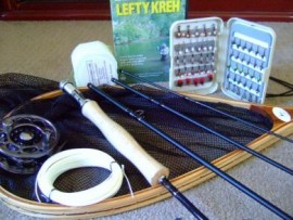 The Ultimate Fly Fishing Package From Fly Fishing Guide  WARRANTY ORIGINAL OWNER LIFETIME WARRANTY