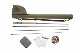 Salt water #8 fly rod and reel Starter combo