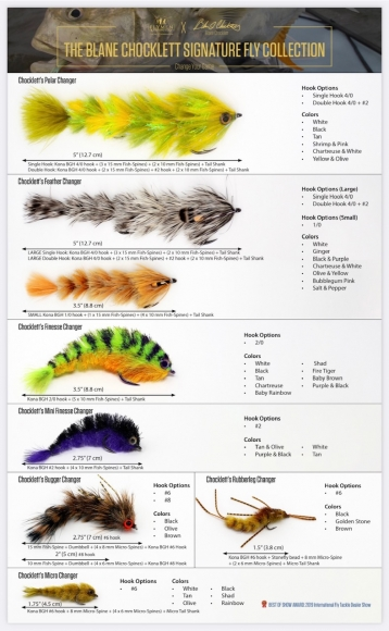 THE BLANE CHOCKLETT'S SIGNATURE FLY COLLECTION