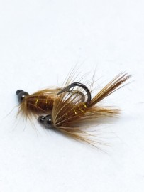 Black Tungsten Jig Birds Nest Brown