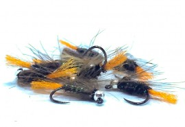 Tungsten Jig Orange Tag