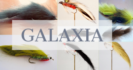 Galaxia Collection 27 Flies Mixed Patterns