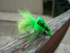 Sneaky Pete Chartreuse Bass Poppers