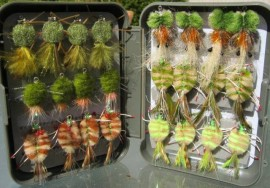 24 Boxed Collection of the best go to Crab Flies