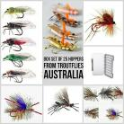 Fly Fishing Flies Hopper Terrestrials boxed Collection