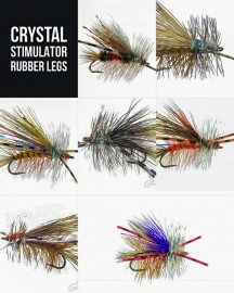 7 Crystal Stimulator Rubber Legs Collection