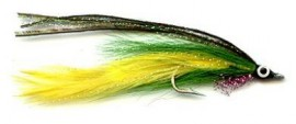 Lefty deceiver green/yellow
