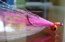 The Ultimate Clouser MK11 Pink/White