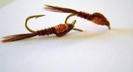 Frank Sawyer's  Pheasent Tail Copper Nymph