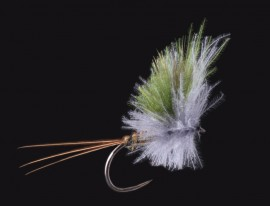 Olive Upright CDC Wing Barbless