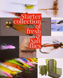 45 Premium Fresh/Salt water Fly Collection Boxed