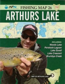 AFN Fishing Map 26 Arthurs Lake etc