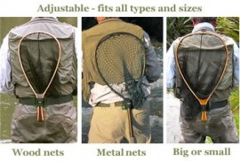 Net Holster™ - Belt mounted landing net holster