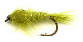 Weighted Seals Fur Olive
